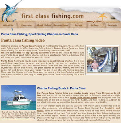 Punta Cana First Class Fishing