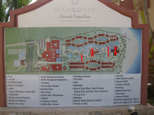 Majestic Colonial fire april 2012 Map